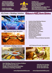 A2z events services,  special events,  top unique events planners,